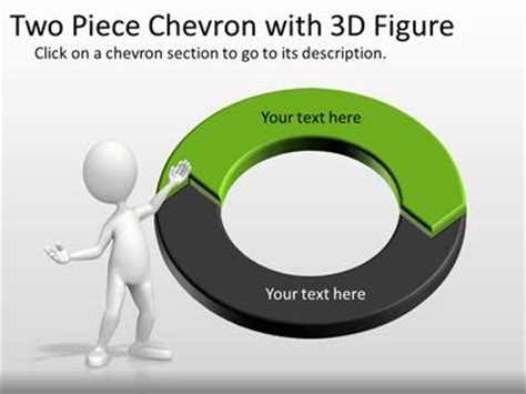 Two Piece Interactive Chevron Tool Kit   A PowerPoint