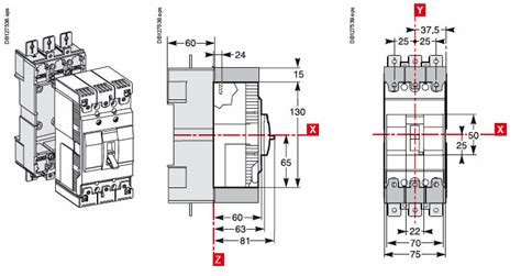 Mccb Schneider Easypact Ezc100n 3p 60a Ezc100n3060 Ezc100n3060 3phase 60 Easypact Schnedier Merlin Gerin