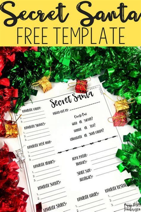 secret ideas work secret santa for teachers and staff elementary