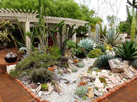 piante grasse in giardino piccolo giardino con piante grasse decorazioni per la casa