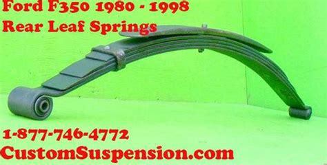 ford mercury car leaf springs oem heavy duty lifted ford f350 1980 98 rear leaf springs oem hd pair