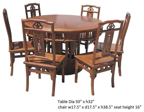dining table and 6 chairs asian rosewood dining table 6 chairs set