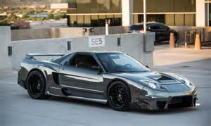 Custom Acura Nsx Custom 650hp Acura Nsx Widebody Turbo 02 Conversion