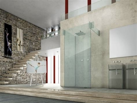 Modern Partition Walls by Modern Glass Shower Ideas A Comfortable Solution For