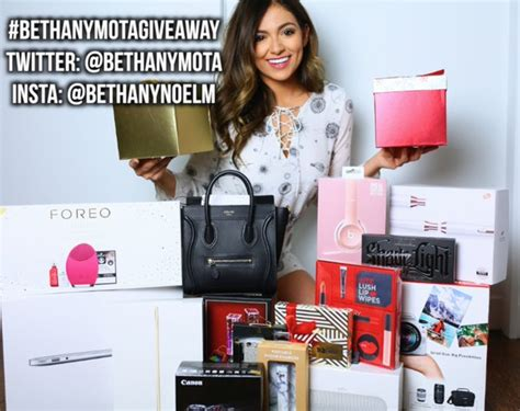 Bethany Mota Back To School Giveaway - enter bethany mota s generous holiday giveaway glitter magazine