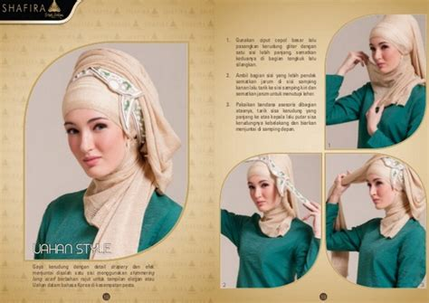 tutorial hijab pesta shafira kreasi tutorial hijab turban untuk pesta by shafira brand