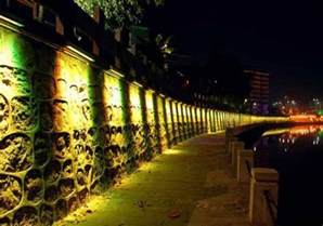 landscape lighting wall wash outdoor led wall wash landscape lighting fixtures 1m 30w