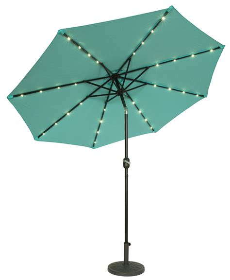 Umbrella Lights Solar 9 39 Lighted Patio Umbrella Lighted Patio Umbrellas Solar