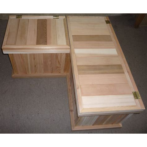 cedar storage bench corner storage bench best storage design 2017