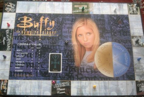 Buffy The Vire Slayer 5 buffy the vire slayer the board