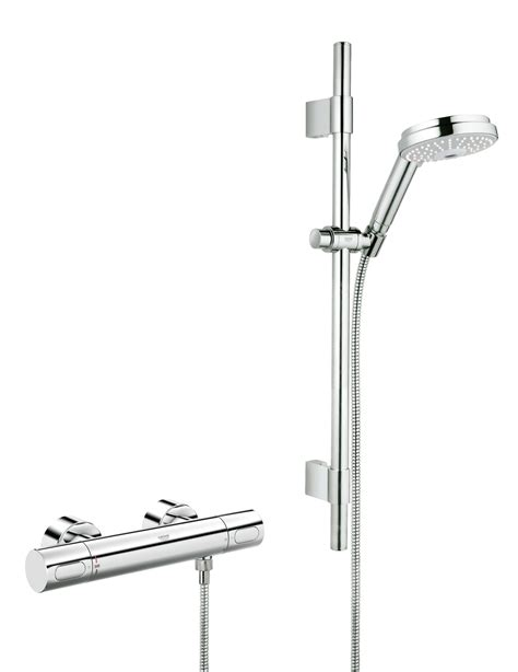 Mixer Cosmos grohtherm 3000 cosmo thermostatic shower mixer with kit