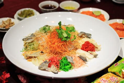 new year halal menu top 5 dining places for new year yee sang 2017