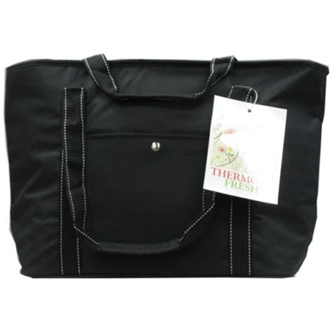 easy wheels insulated shopping bag black 1ct walmart