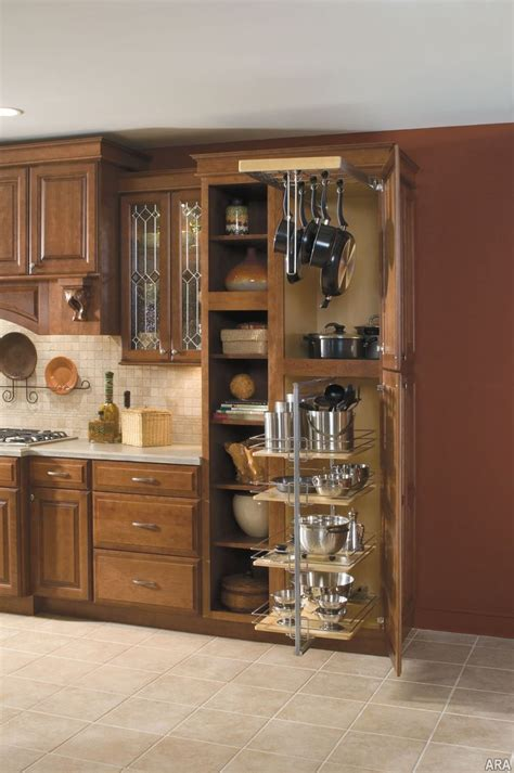 kitchen storage cabinets at home design concept ideas