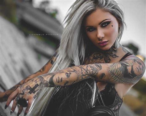 tattoo model raquel