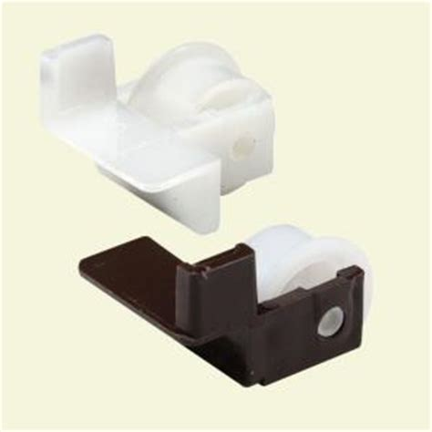 Drawer Guides Home Depot Prime Line Plastic Drawer Guide Rollers 1 Pair R 7220