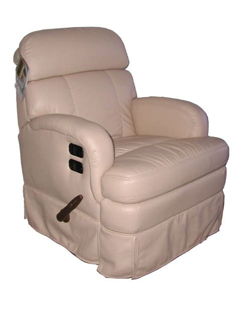 flexsteel dresden  rv swivel rocker recliner glastop