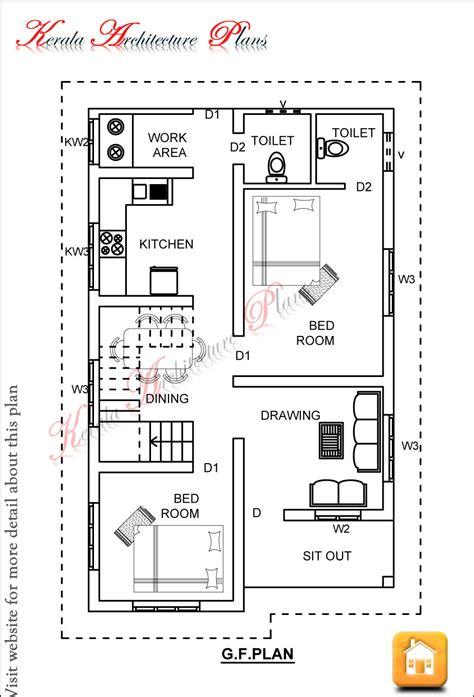 House Plans For 1200 Square Feet Kerala House Plans 1200 Sq Ft With Photos Khp