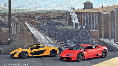 Tlcharger Fond d'ecran McLaren P1, Lamborghini Huracan
