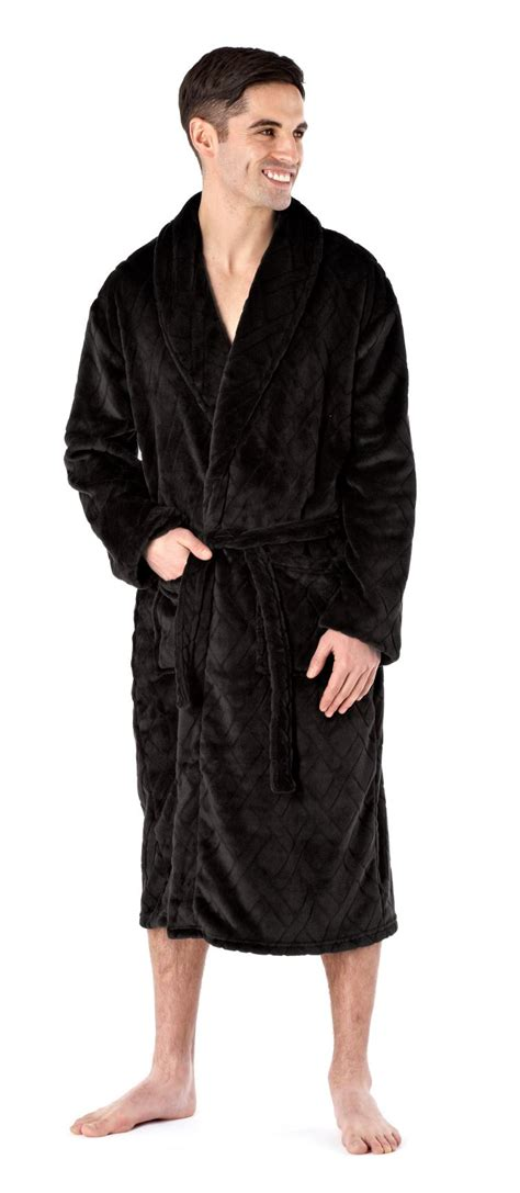 slippers and robe uk mens deluxe luxury dressing gown robe bathrobe soft winter