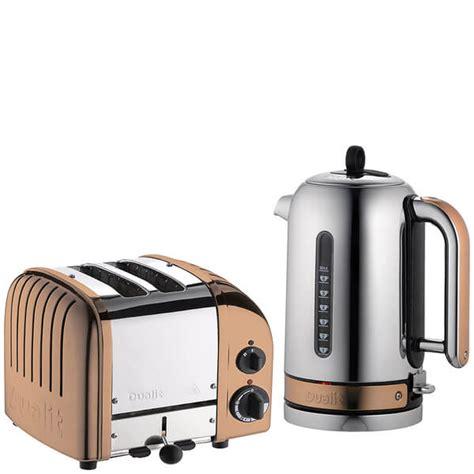 dualit kitchen appliances dualit classic vario 2 slot toaster kettle bundle
