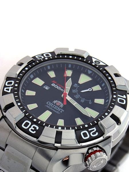Orient M Sel03001b Black orient m automatic black dive with power