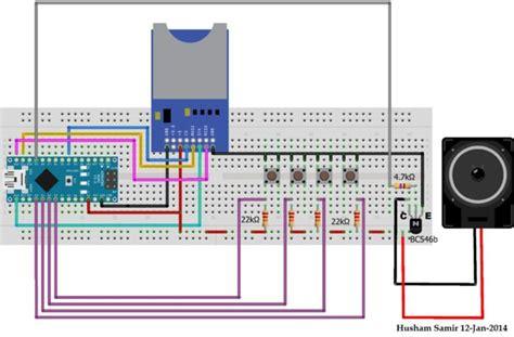 Wav Player Wp3a Tanpa Microsd wave file using arduino
