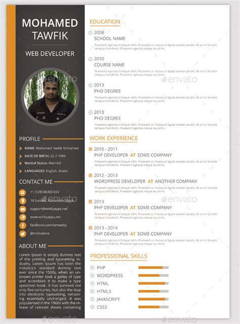 Resume Format Template by 26 Best Resume Formats Doc Pdf Psd Free Premium