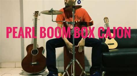 cajon zildjian pearl boom box cajon with paiste pst5 8 quot cymbal youtube