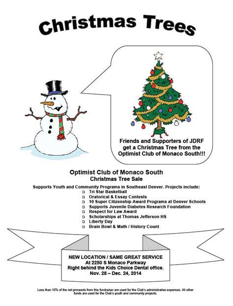 optimist club of monaco south christmas tree sale rocky
