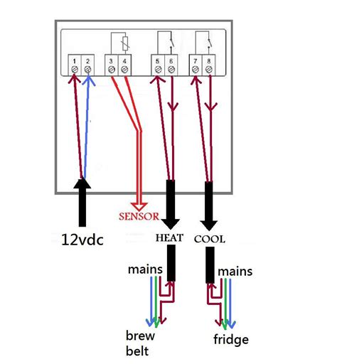 stc 1000 wiring diagram wiring diagram schemes