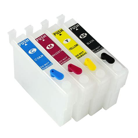 reset epson xp 400 ink cartridge empty refillable ink cartridge set for epson expression