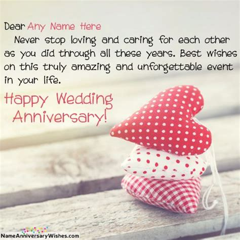 Wedding Anniversary Wishes With Name And Photo by 7 Best Anniversary Wishes With Name Images On