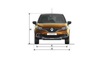 Renault Captur Dimensions Dimensions Nouveau Captur V 233 Hicules Particuliers