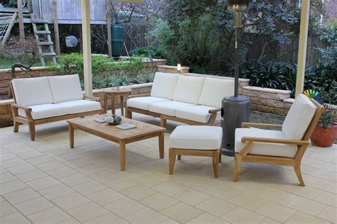 outdoor lounge juliet teak outdoor lounge 3 suite