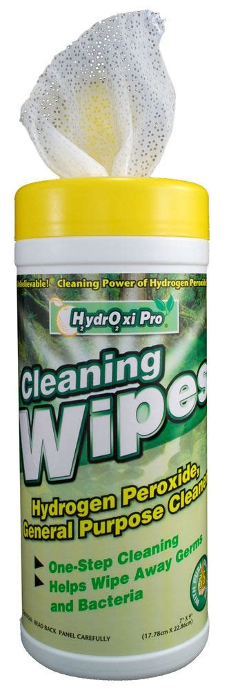 HydrOxi Pro Industrial Strength Cleaning Wipes   Non Toxic