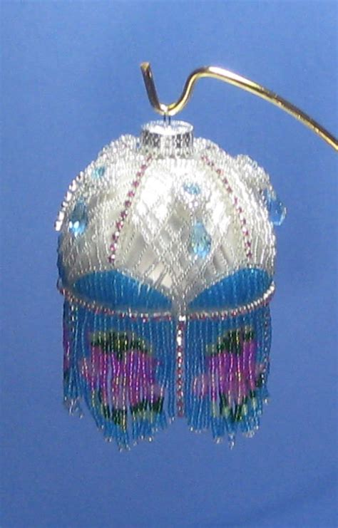 pattern for christmas ornaments beaded ornament pattern