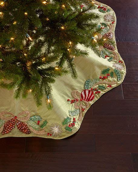 horchow christmas tree mackenzie childs tabletop tree