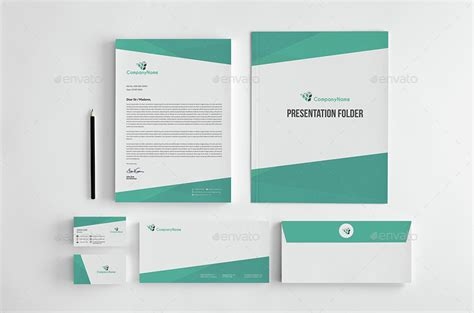 corporate stationery pack design template vol 12 by