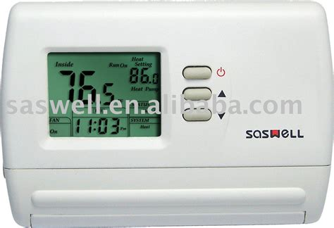 heating and cooling thermostat in hvac systems parts