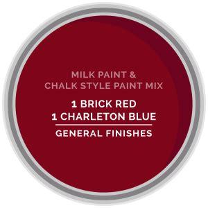 chalk paint vs general finishes milk paint charleton blue general finishes design center