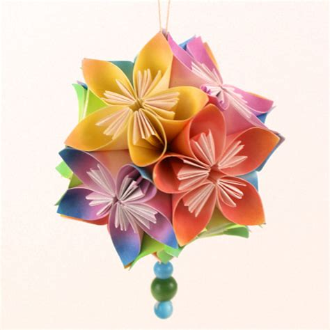 Origami Flower Bouquet Tutorial - planetjune by june gilbank 187 kusudama flowers tutorial
