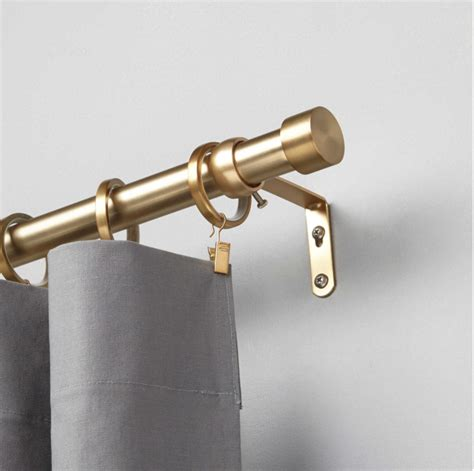 brass curtain rods when to splurge when to save how do you decide