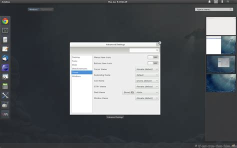 install gnome themes centos gnome shell tweaking with extensions and themes on fedora