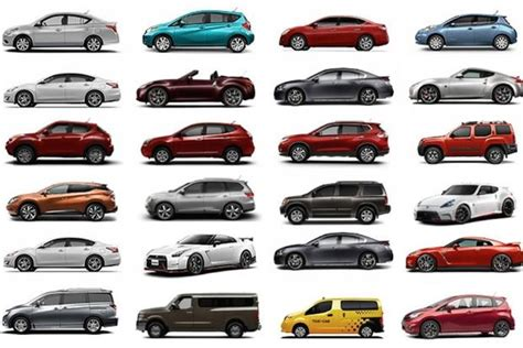all types of nissan cars list of types of nissan cars