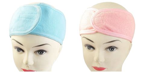 Makeup Headband Hello Pink dmtse set of 6 spa bath shower makeup headbands wash cosmetic headband hair ebay