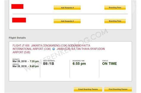 Pilih Kursi Airasia air cara web check in dan pilih kursi gratis