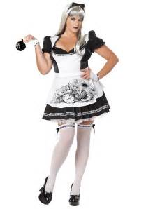 alice in wonderland halloween costume party city plus size dark alice costume