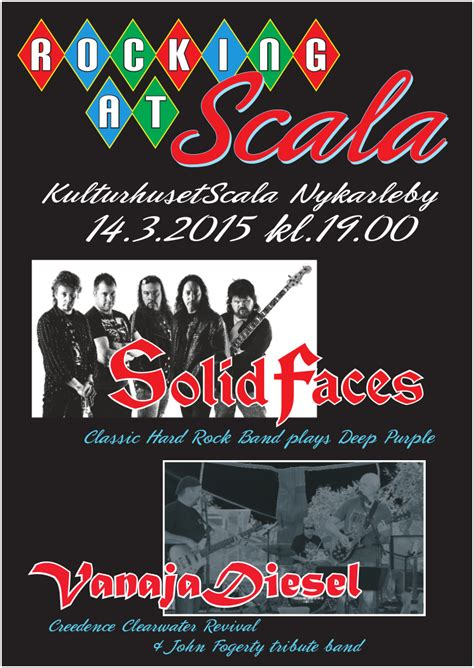 Kaos Creedence Clearwater Revival Crdnc01 solid faces live at scala rock 2015 svenwannas