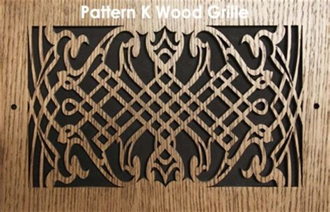 pattern cut wood grilles air vent covers wood vent covers patterncut